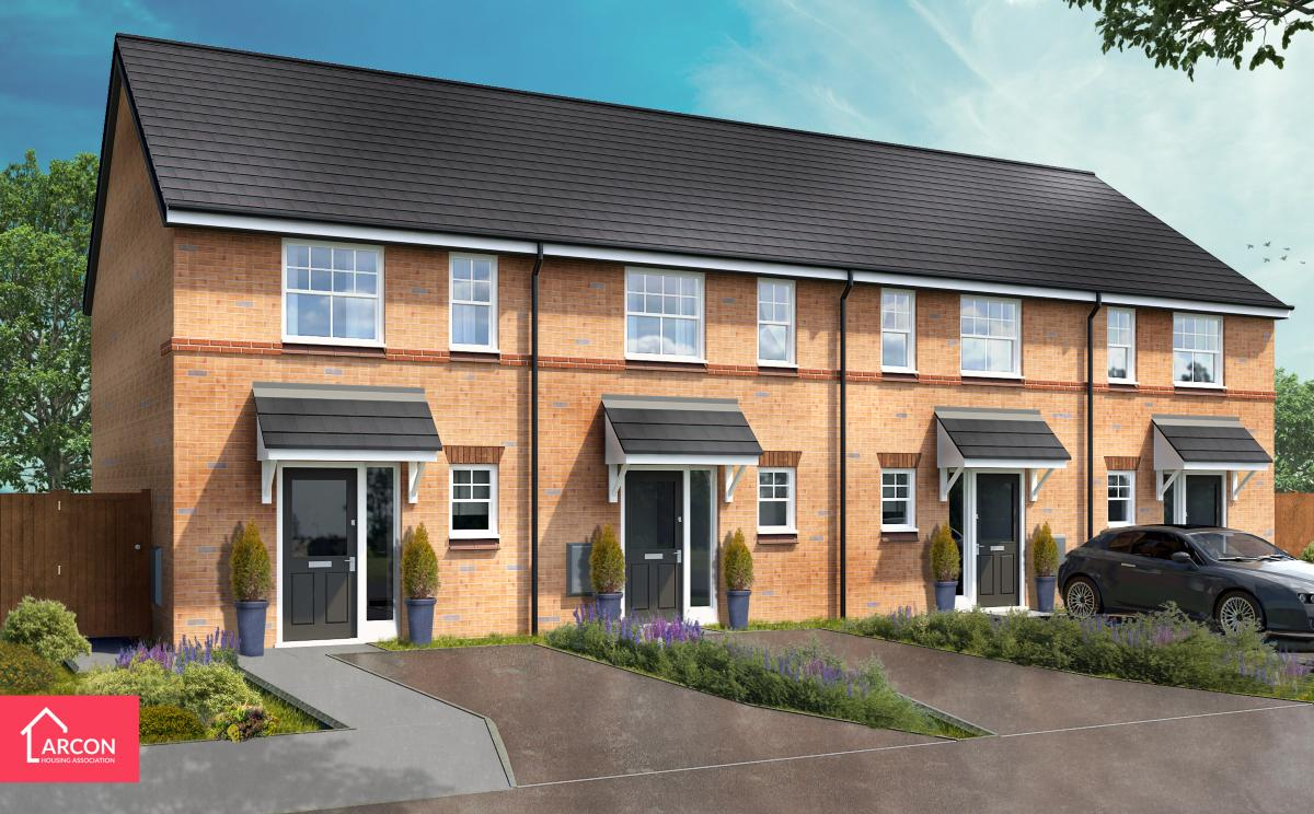 Albion Lock Phase 2 CGI of Properties