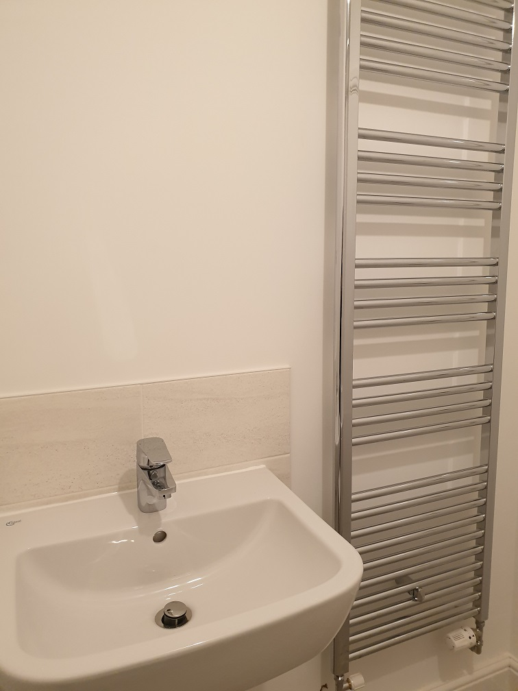 Basin & Towel Rail