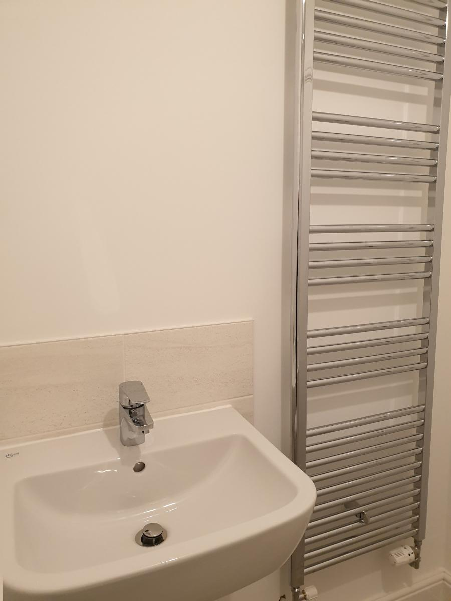 Abbeyfields Basin & Towel Rail
