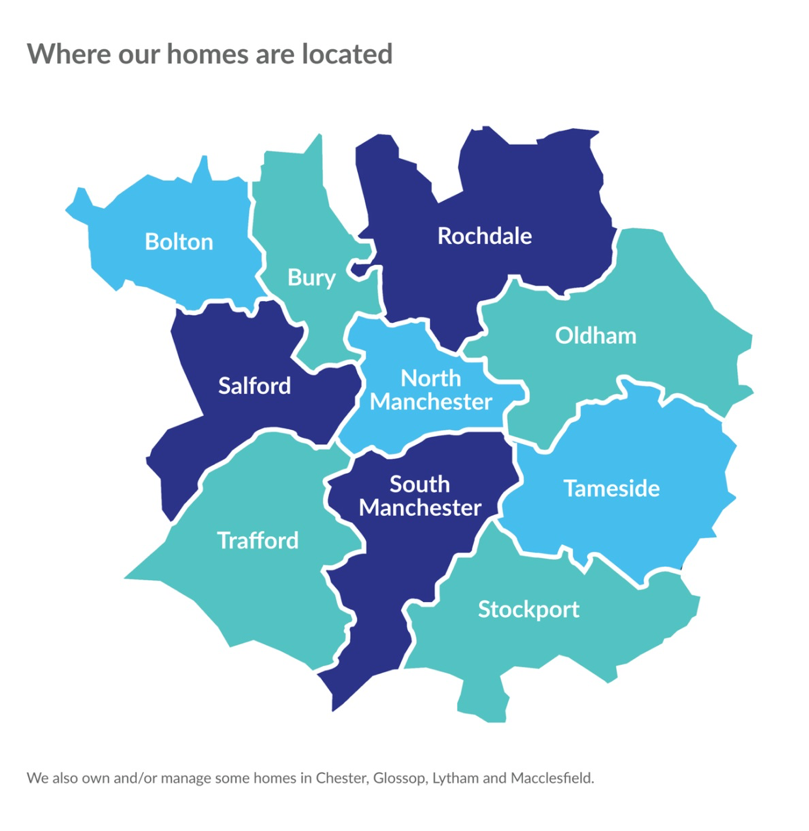 Where Arcon Homes can be found