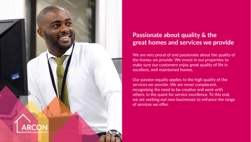 Arcon Housing Association - Branding information